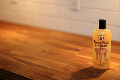 Wax On, Wax Off - Butcher Block Oil Treatment Update - Old Town Home