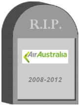 Air Australia Tombstone