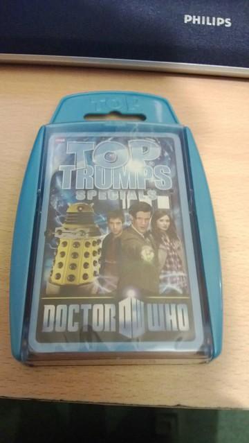 Doctor Who (Matt Smith) Top Trumps