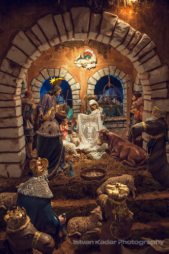 Nativity Scene by fesign