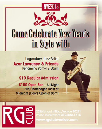 RG Club New Years