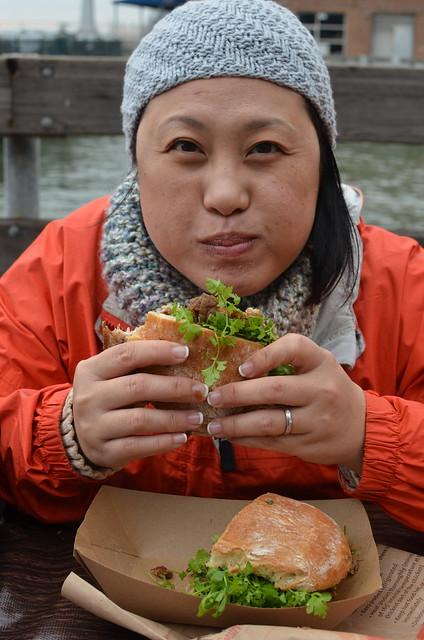Porchetta sanwich