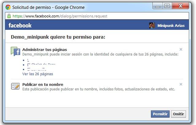 App Facebook