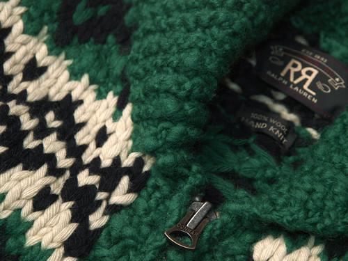 RRL / Cowichan Zip Cardigan