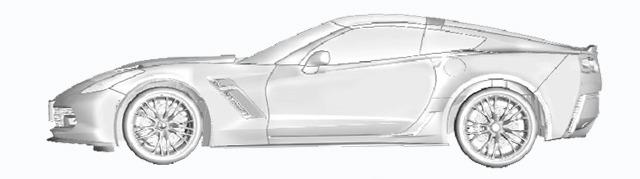 Espías Chevrolet Corvette C7