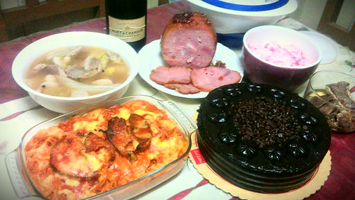 simple Noche Buena at home