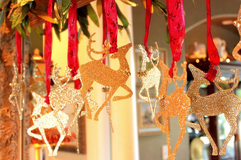 Christmas Glittery Reindeers