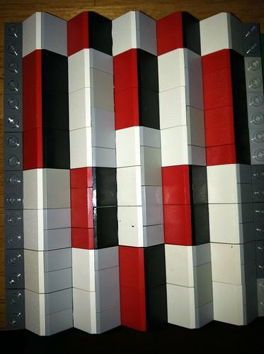 heart lego mosaic lenticular