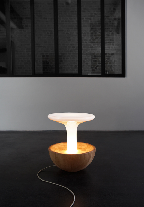 Versa Lamp by Dan Yeffet and Lucie Koldova