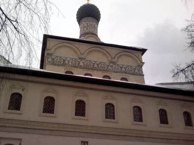 Надвратная церковь Андрея Стратилата