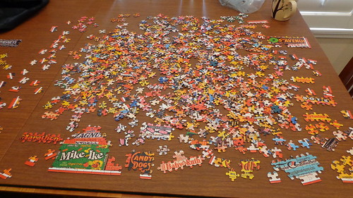 The puzzle at 8 am