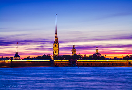 city longexposure travel colour church saint architecture night river russia postcard famous petersburg best canon5d scape picturesque iconic 2012 neva mustsee historicalplace ef241054lis