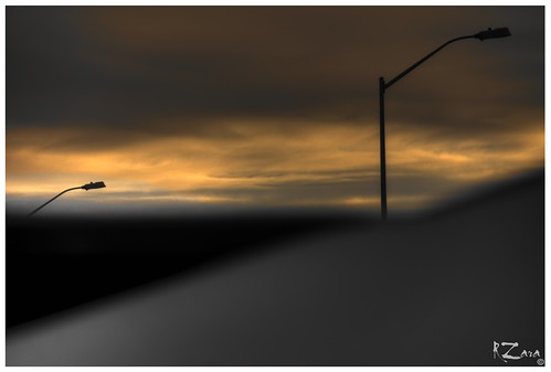 ontario canada sunrise streetlamps russ zara londonontario sonyslta77v russzara rzara