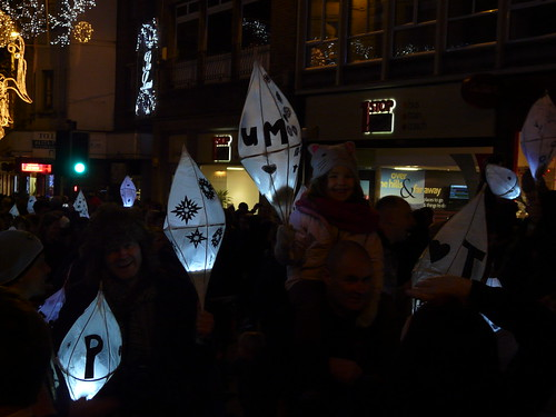 Burning of the Clocks Procession Brighton 2012
