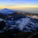 Summit 3726m of mount Rinjani