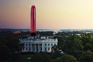 Giant Pink Vibrator