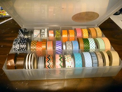 new washi storage by Cali-rhoz