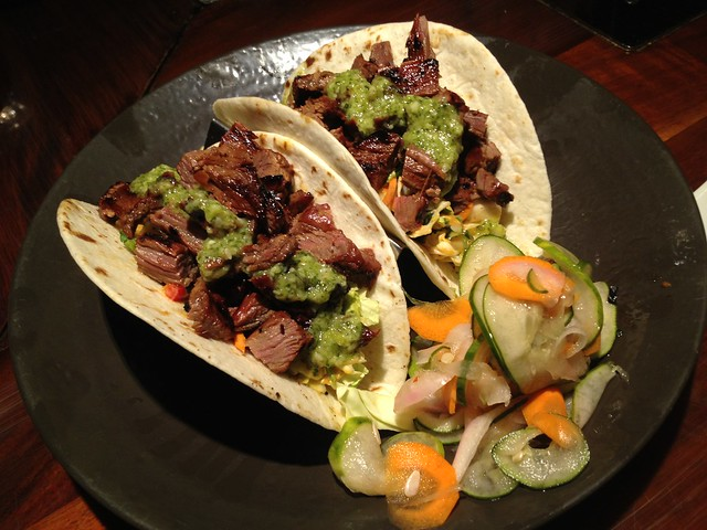 Korean steak street tacos - Duke's Waikiki