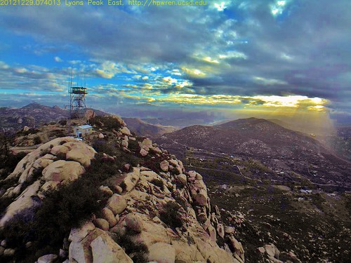 lyons peak east view lyonspeakeastview lyonspeak jamulcalifornia sandiegocounty easternsandiegocounty southerncalifornia hpwren webcam firelookout weathercamera mountain 360degreecoverage weathercam observation clouds daybreak sunrise slideshow set easternview backcountry rural wildland radiotower livefeed video hpwreniqeye ucsd universityofcaliforniaatsandiego location32701492116764562