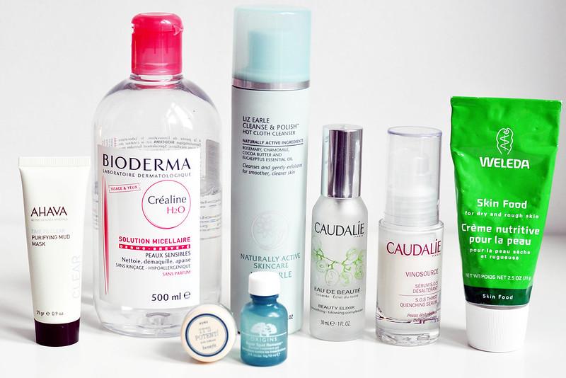 2012 favourites skin care