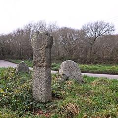 Wayside Cross, Treworval, Constantine
