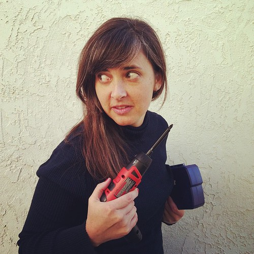 Crafty drill girl.