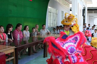 2013 Vietnam Charitable Trip -- Traditional Lion Dance