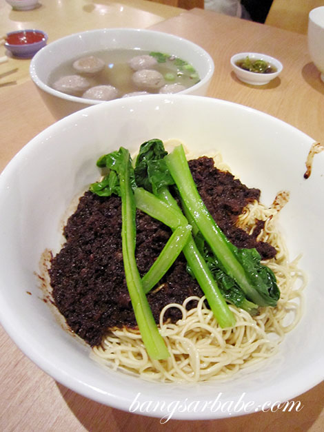 Soong Kee Beef Ball Noodles