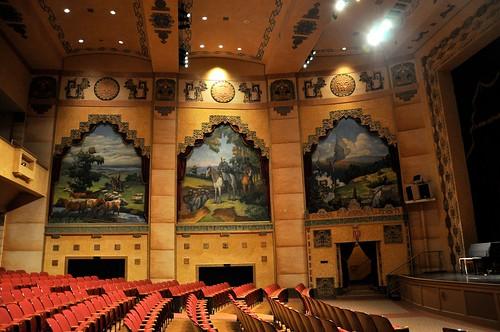 The Lincoln Theatre Marion VA Interior