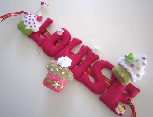 ♥♥♥  Louise... by sweetfelt \ ideias em feltro