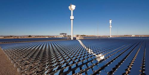 Sierra SunTower solar facility, Lancaster, CA (courtesy of Criterium Consulting Group)