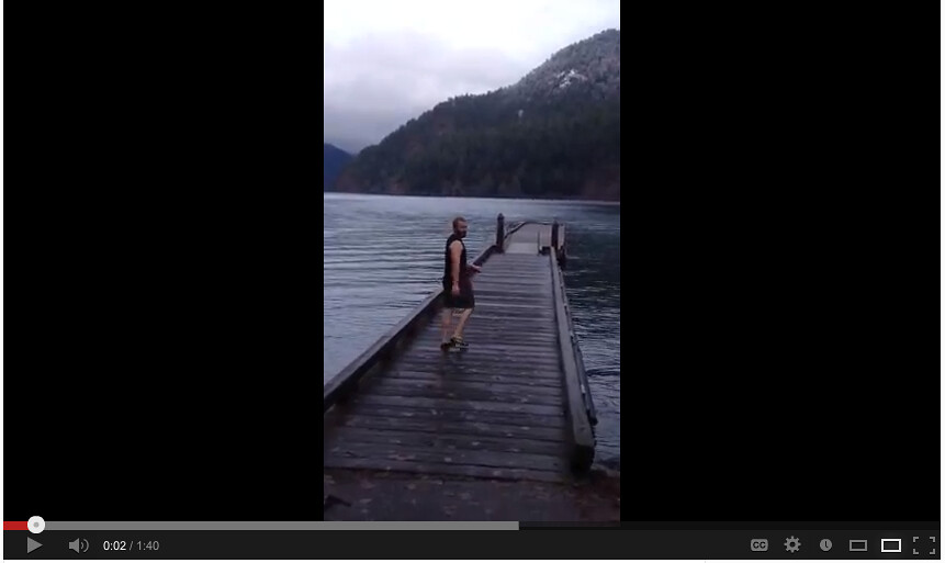 Lake Crescent swim