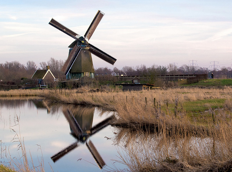 The Windmill in Twiske The Netherlands