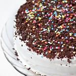 Бърза плодово-млечна торта