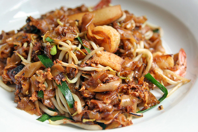 Room service - Penang char kway teow