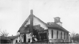First Christian Church from rear