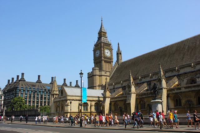 Palacio de Westminster y Big Ben