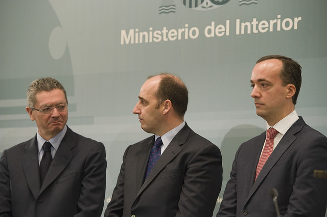 El ministro del interior jorge fern ndez d az ha for El ministro de interior
