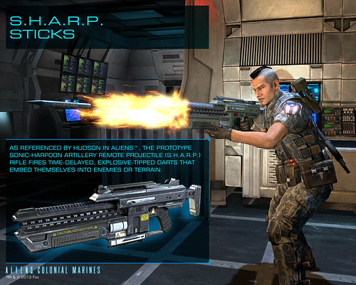 Aliens: Colonial Marines - S.H.A.R.P. Sticks Pre-order Item (Steam)