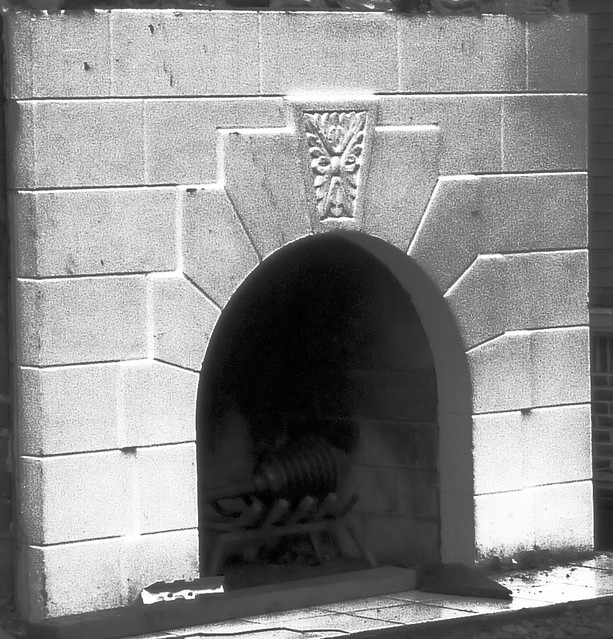 P1150412-2013-01-14--1135-University-teardown-poptop-demo-white-fireplace-detail-bw