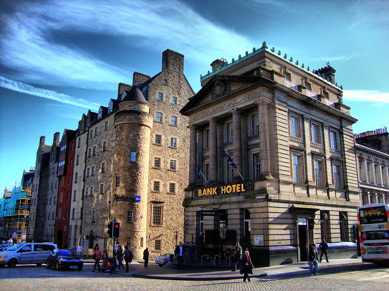 Bank Hotel, The Royal Mile, Edinburgh