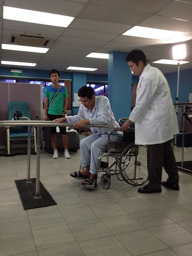 Filming for Mediacorp Channel 8 drama - 我们等你 - 11