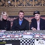 Earl Baltes and Dave Darland signed new copies of the Eldora book