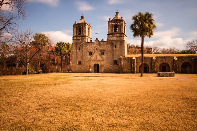 San Antonio Missions National Historical Park by CC user stuseeger on Flickr