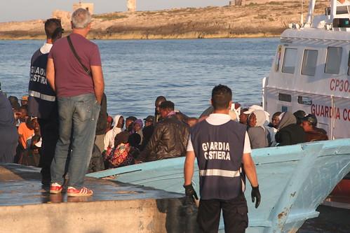Lampedusa, immigrato minorenne arrestato per tentata violenza sessuale$