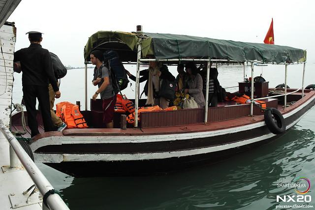 halong bay junk boat transfer