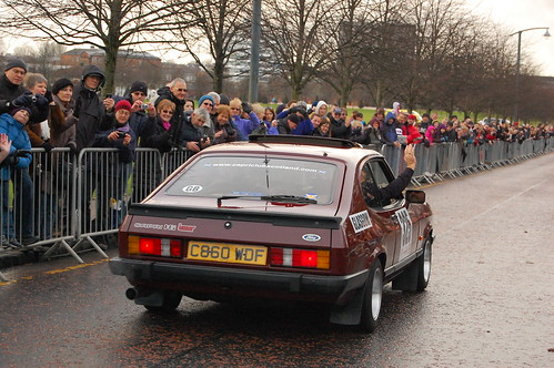 Monte-Carlo Rally competitior 2013, Glasgow