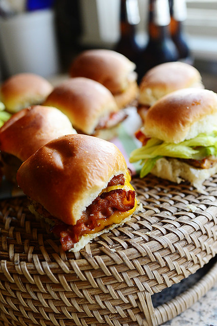 Grilled Chicken Bacon Sliders
