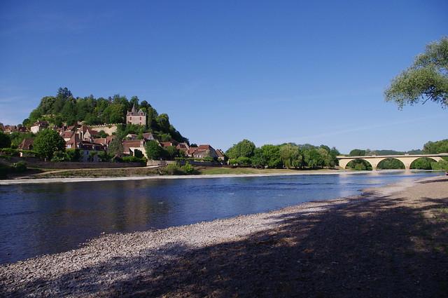 Cité médiévale de Limeuil - Plages sur la Dordogne