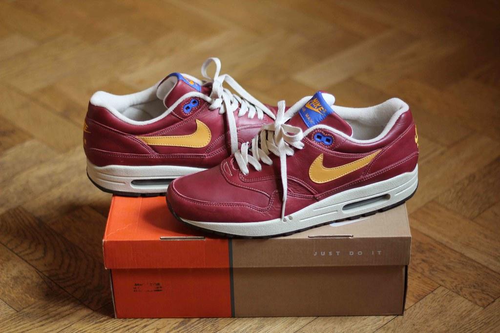 best cheap 983ad 7e678 ... Nike Air Max 1 Gold Leaf  by kaniaa